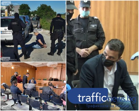 Ударната бригада от Трето районно отново пред съда, искат на свобода