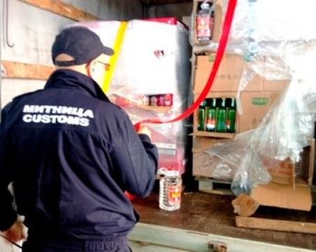 Задържаха 363 литра нелегален алкохол преди абитуриентските балове