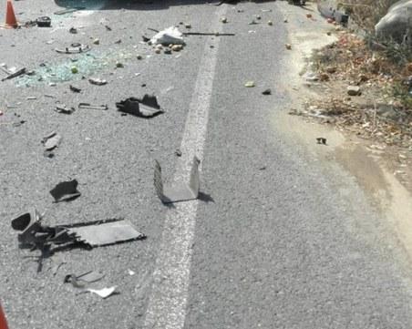 Тежка катастрофа на Подбалканския път! Два тира се сблъскаха челно
