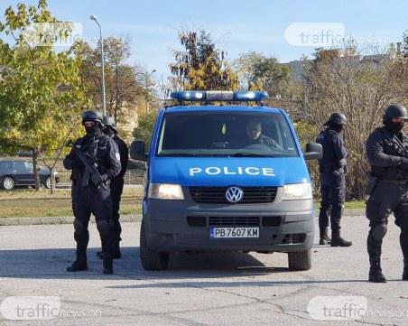 Мащабна акция в Бургас: 10 души са задържани
