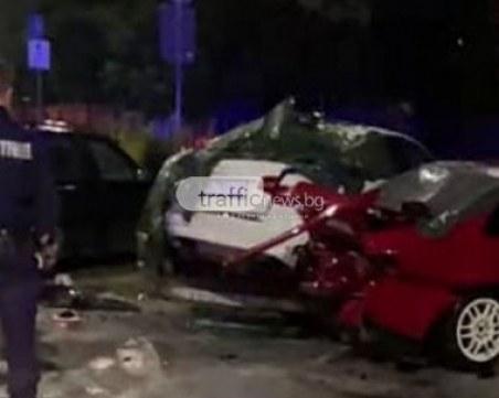 21-годишен е предизвикал мелето с пет коли в Пловдив, арестуван е