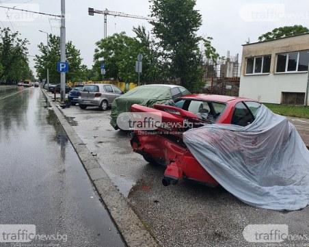 Прокуратурата пое случая с мелето с пет коли в Пловдив