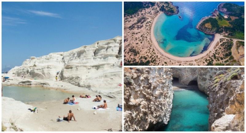 Топ 10 нетипични плажа в Гърция