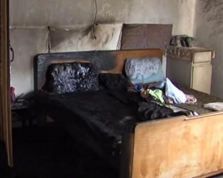 Затвор за мъжа, залял с бензин и подпалил спящата си жена във Враца