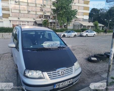 Прокуратурата проверява вандалщината с нарязани гуми в центъра на Пловдив