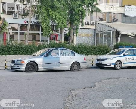 Вандалщита в центъра на Пловдив! Коли осъмнаха с нарязани гуми