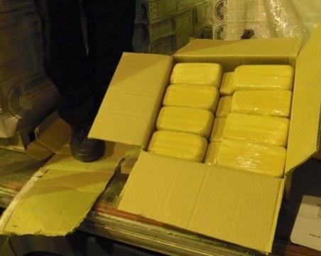 Намереният в мраморни плочи хероин е на стойност от 25 милиона лева