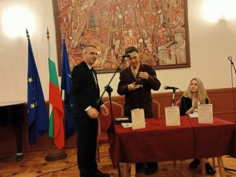 Адвокатът  историк Янко Гочев получи приз