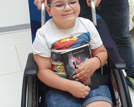 Ники от Пловдив отново има нужда от нас, за да спечели битката за независимост от инвалидната количка