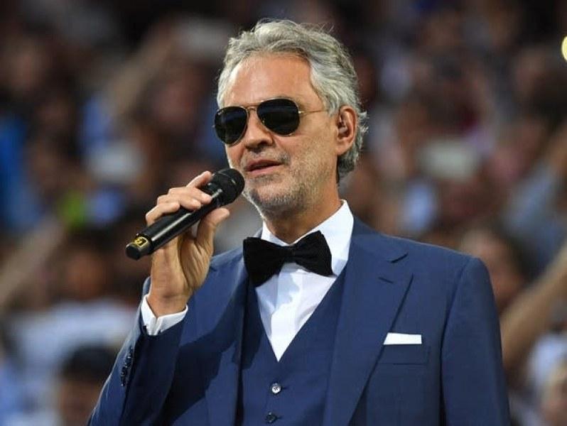 Андреа Бочели ще пее на откриването на Евро 2020