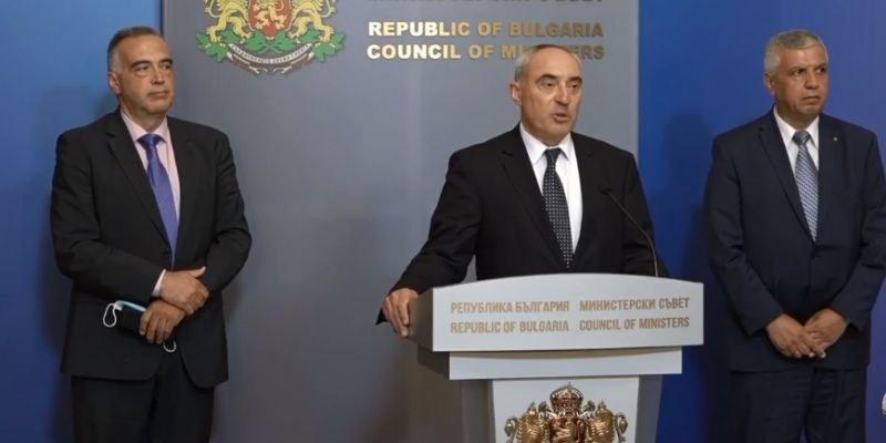 Областният управител на Пловдив на среща в Министерски съвет за протичането на изборите