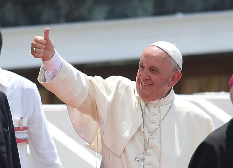 Папа Франциск даде благословията си за Евро 2020