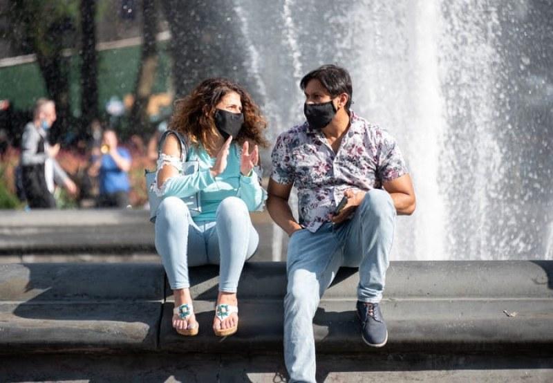 В Дания носенето на маски става въпрос на личен избор