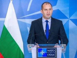 Румен Радев ще ръководи делегация на Срещата на НАТО в Брюксел