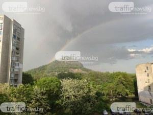Жълт код за цялата страна днес! Дъжд и градушка в Пловдив