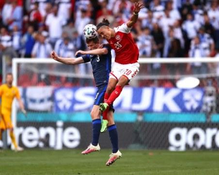 След шока с Ериксен Финландия победи Дания
