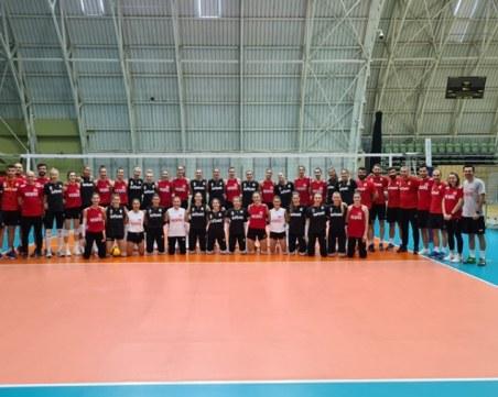 Волейболните националки с две победи в контроли срещу Турция в Пловдив