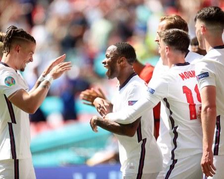 Англия тръгна с минимална победа срещу Хърватия на Евро 2020
