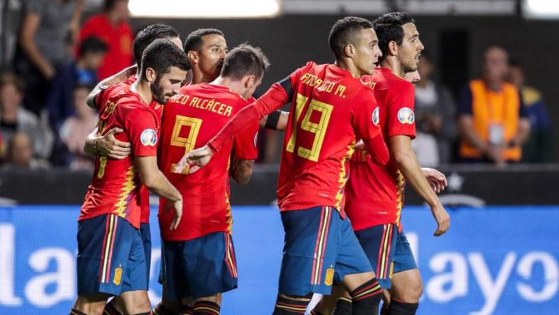 Испания срещу Швеция днес на Евро 2020