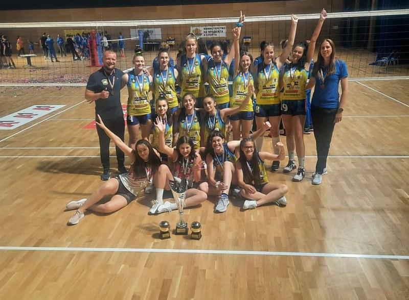 Марица U15 стана шампион на държавното първенство без загубен гейм