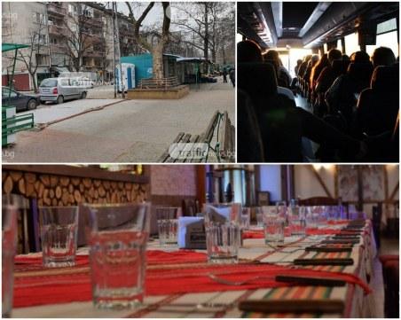 Данъчни пишат наред актове на пазара на Младежка, удариха ресторант в Кючука