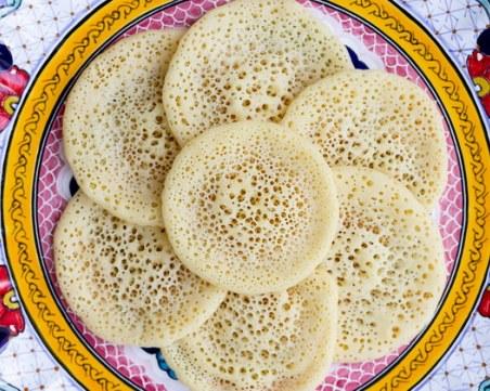 Рецепта за марокански палачинки, които се пекат само от едната страна