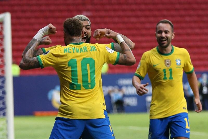 Бразилия и Колумбия тръгнаха с победи на Копа Америка