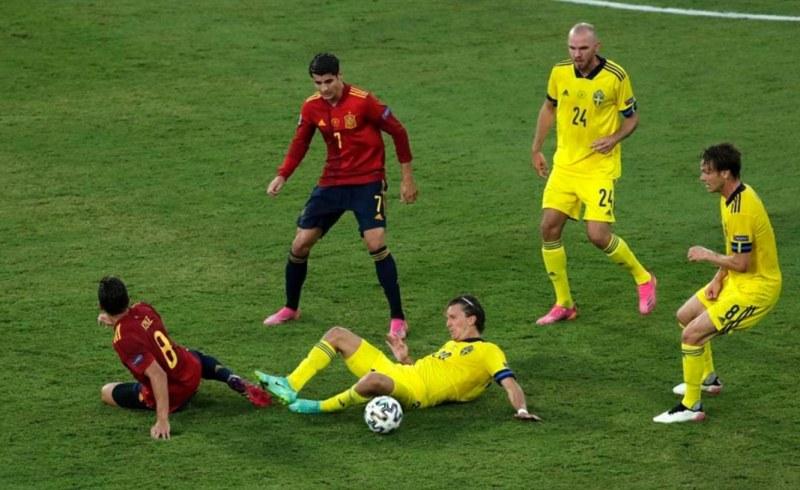 Испания не успя да пробие шведската стена