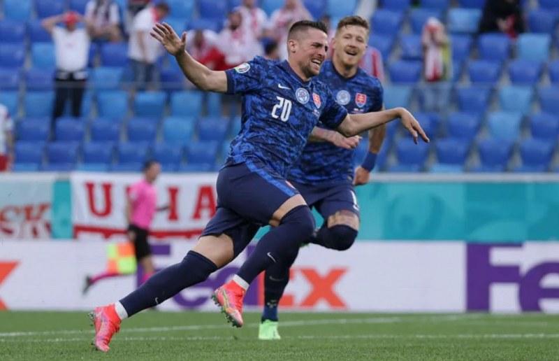 Словакия шокира Полша