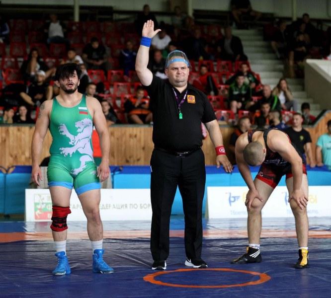 Пловдивски борец с бронз от републиканското първенство