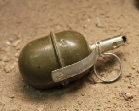 Откриха граната в двор в Карлово