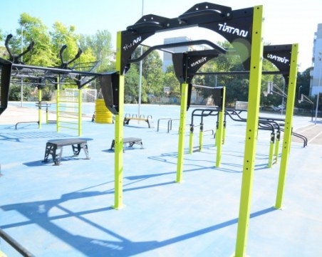 Шест пловдивски училища ще имат нови спортни площадки