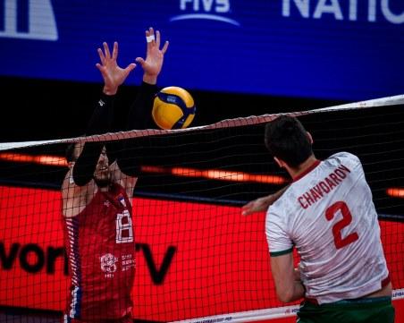 Волейболистите загубиха от европейския шампион Сърбия