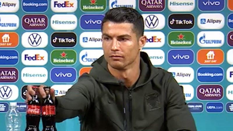 Кристиано Роналдо понижи акциите на
