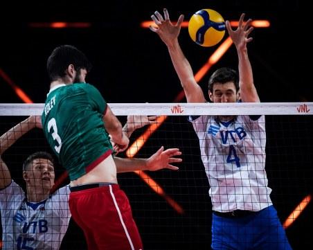 България загуби от Русия в Лигата на нациите