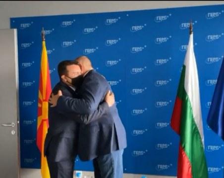 Бойко Борисов посрещна Зоран Заев