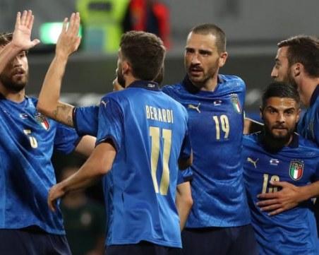 Италия с уникално постижение - 10 поредни победи и 31:0