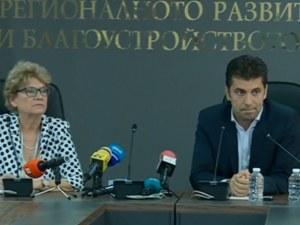Министър Петков: 7 компании са работили по 416 язовира, има 10 завършени