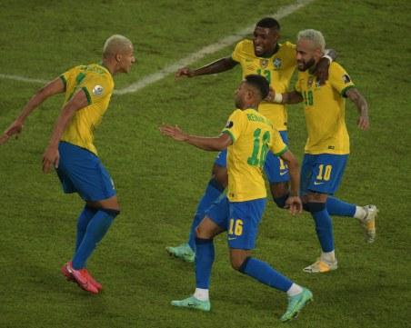 Бразилия с разгром, Колумбия с първа грешна стъпка на Копа Америка