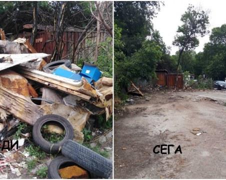 Извозиха 45 тона боклуци от сметище в Кючука