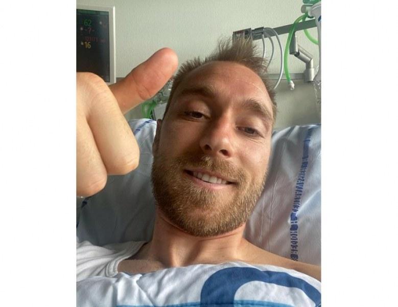 Оперираха Ериксен, имплантираха му кардиовертер дефибрилатор