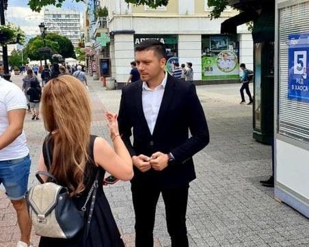 Пенчо Малинов: ГЕРБ дава шанс на младите хора, те носят в себе си енергия, ентусиазъм и знания