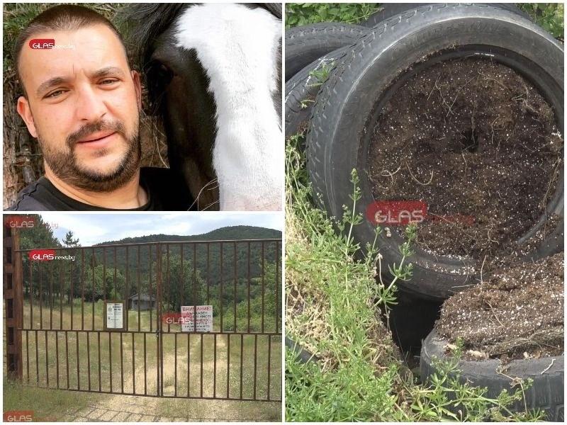 Как се отглежда марихуана във военен имот и каква е връзката с арестуваните пловдивски полицаи?