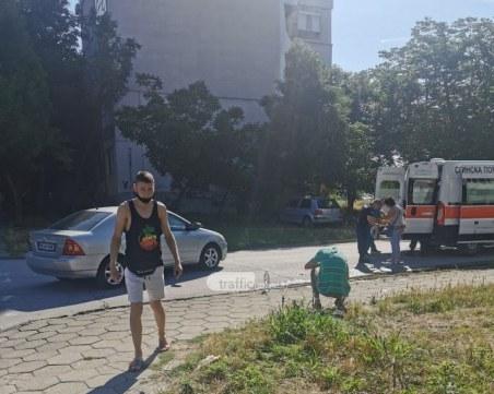 Откараха в болница пешеходката, ударена от бившия областен управител на Пловдив