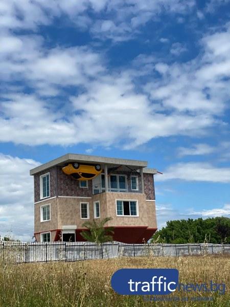 Къща с главата надолу е новата атракция край Черноморец