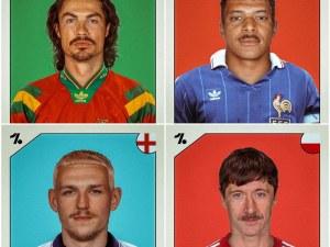 Вижте как биха изглеждали звездите на Евро 2020, ако шампионатът беше през 1992