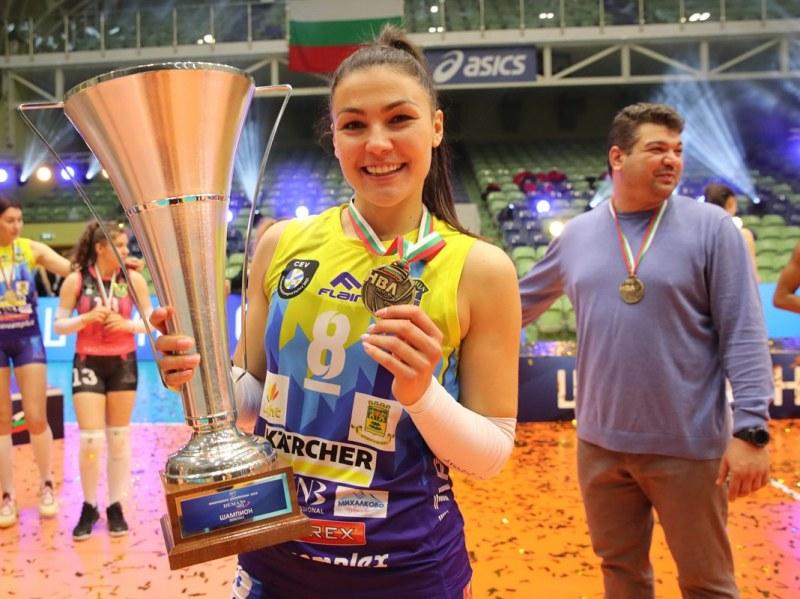 Капитанката на Марица ще играе в Румъния