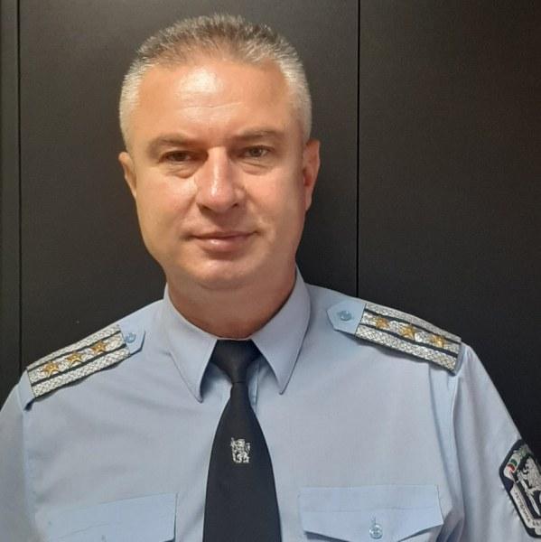 Костадин Костов застава начело на Охранителна полиция в Пловдив