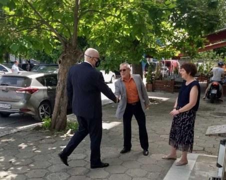 Иван Гешев посети Луковит и Червен бряг заради битовата престъпност