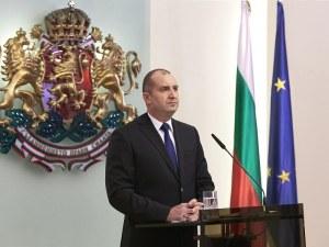Радев ще участва в заседанието на Европейския съвет